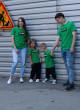 Футболки Овер зелёные ПРАВИЛА