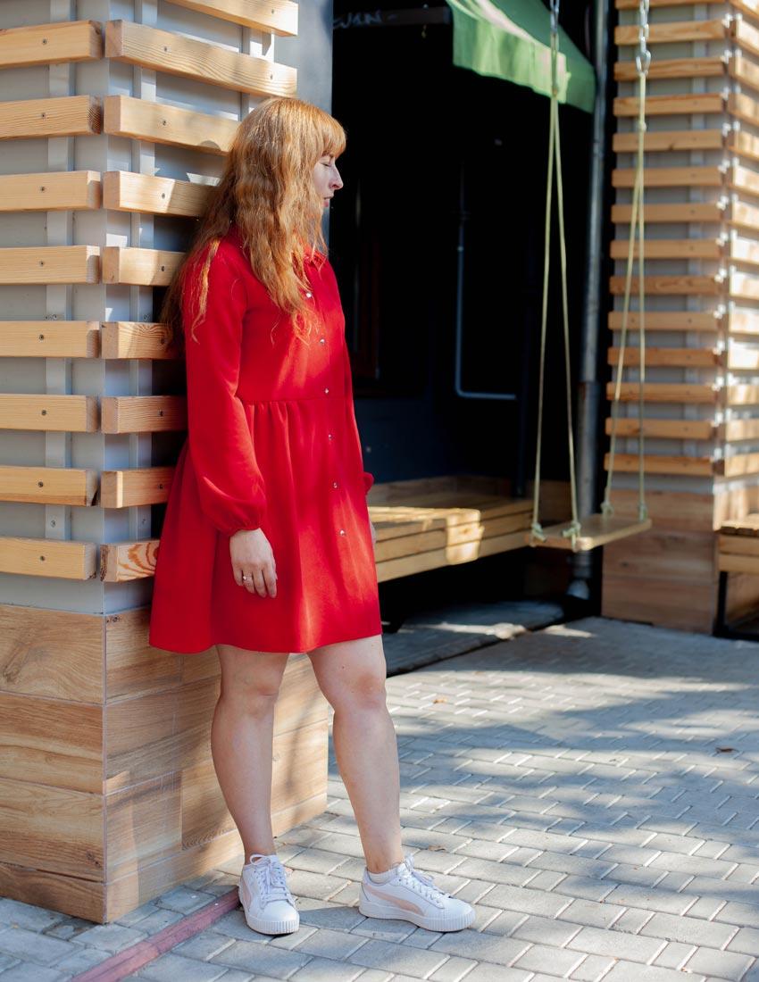 Платья Вейла красные