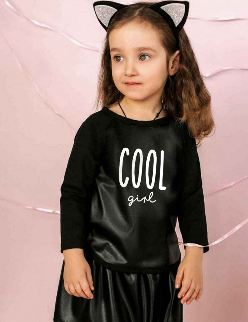 Джемпер Йорк черный Cool little girl