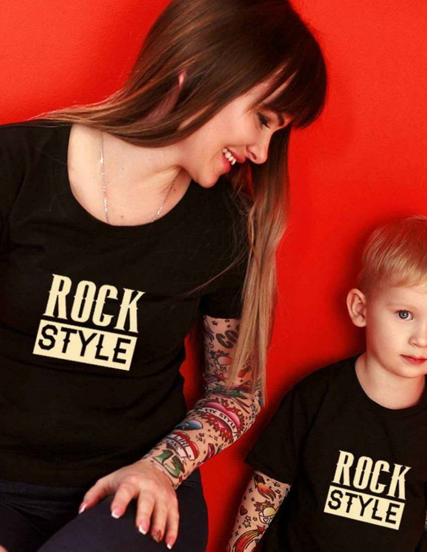 Футболка Дрейк с тату рукавами tattoo style ROCK Style