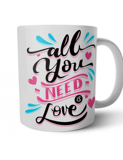 Чашка All you need is love
