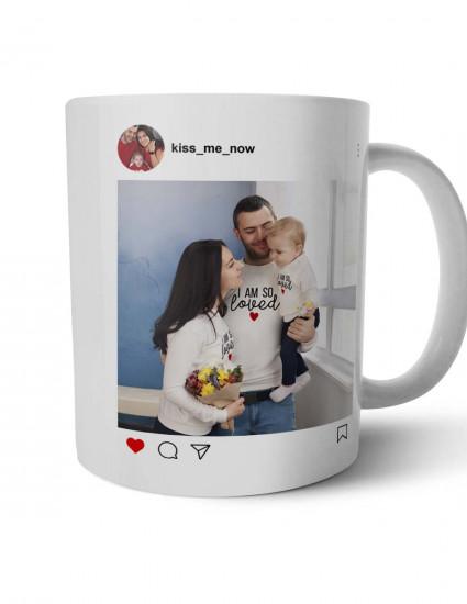 Чашка Insta love