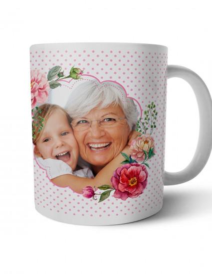 Чашка Любимая бабушка