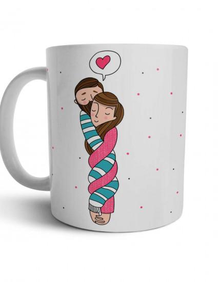 Чашка Ты моя вторая половинка