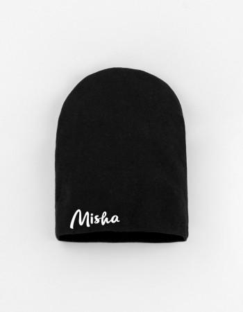Шапка детская черная Misha