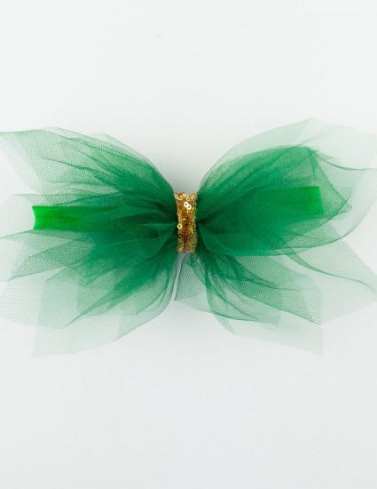 Аксессуар-бант Ёлочка зелёная
