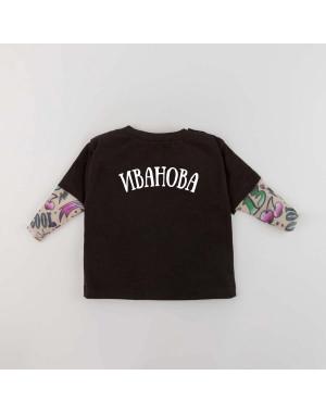 Футболка Дрейк с тату рукавами girl tattoo Фамилия
