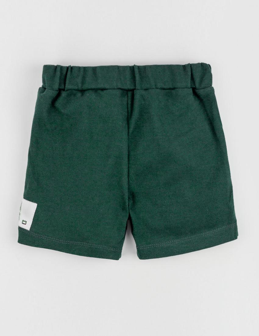 Шорты Тимми тёмно-зелёный