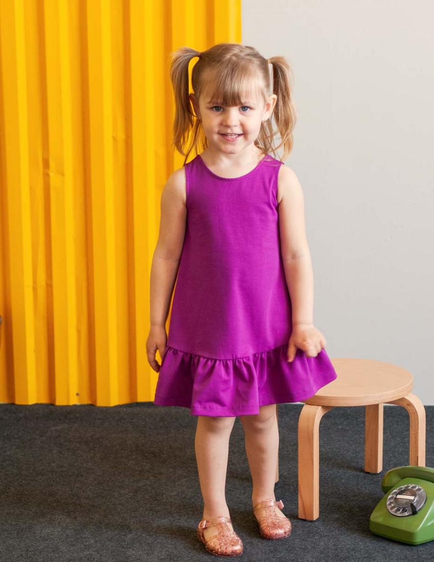 Платье Фиджи лиловое