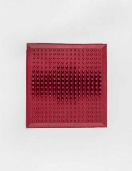 Коврик резиновый от плоскостопия красный