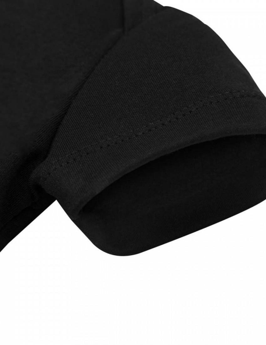 Боди черный с коротким рукавом