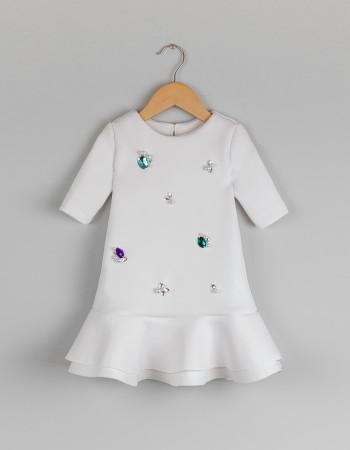 Платье Sherri молочное
