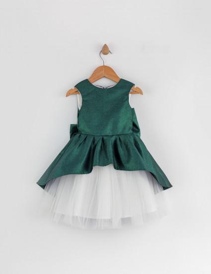 Платье Беатрис зеленое