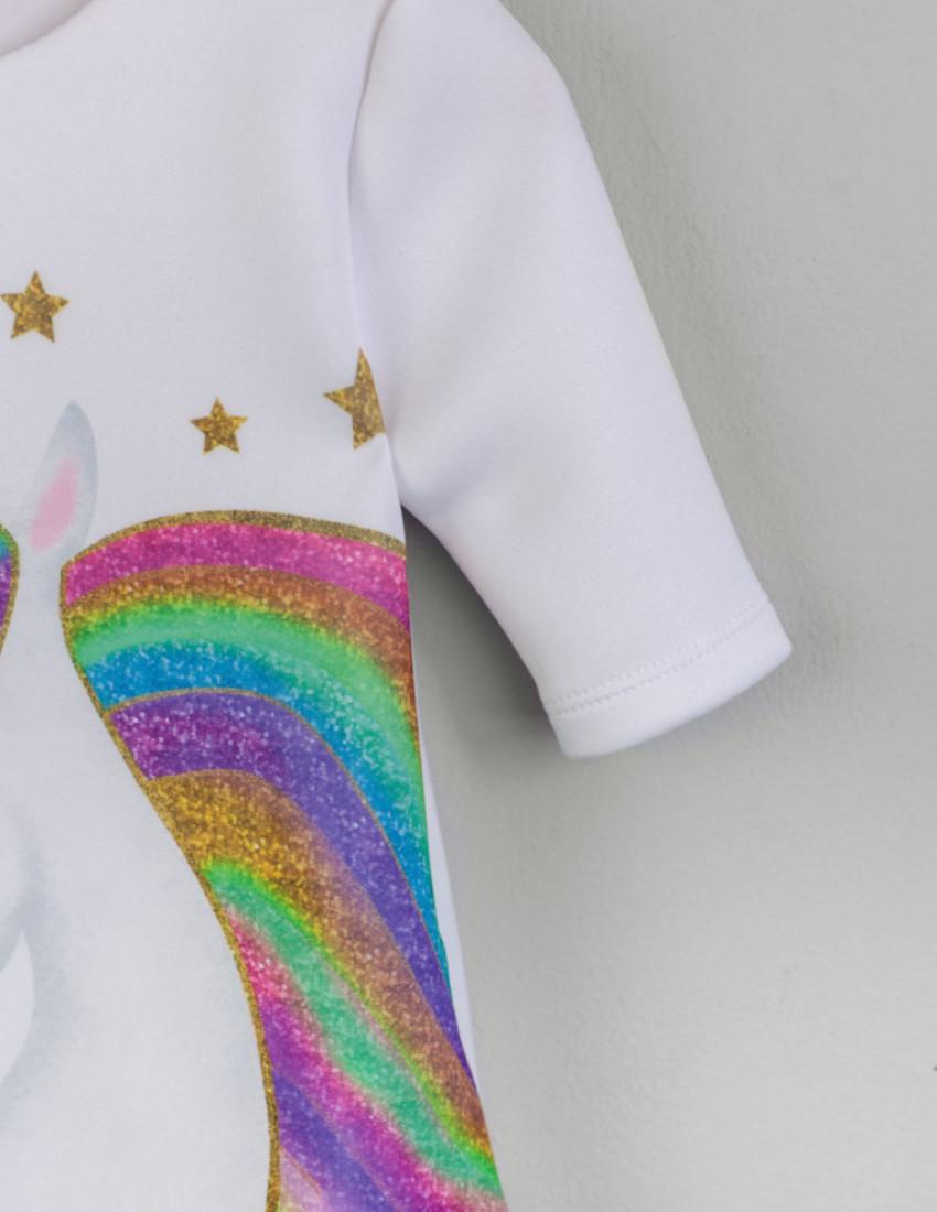 Платье Сакура Magic rainbow unicorn