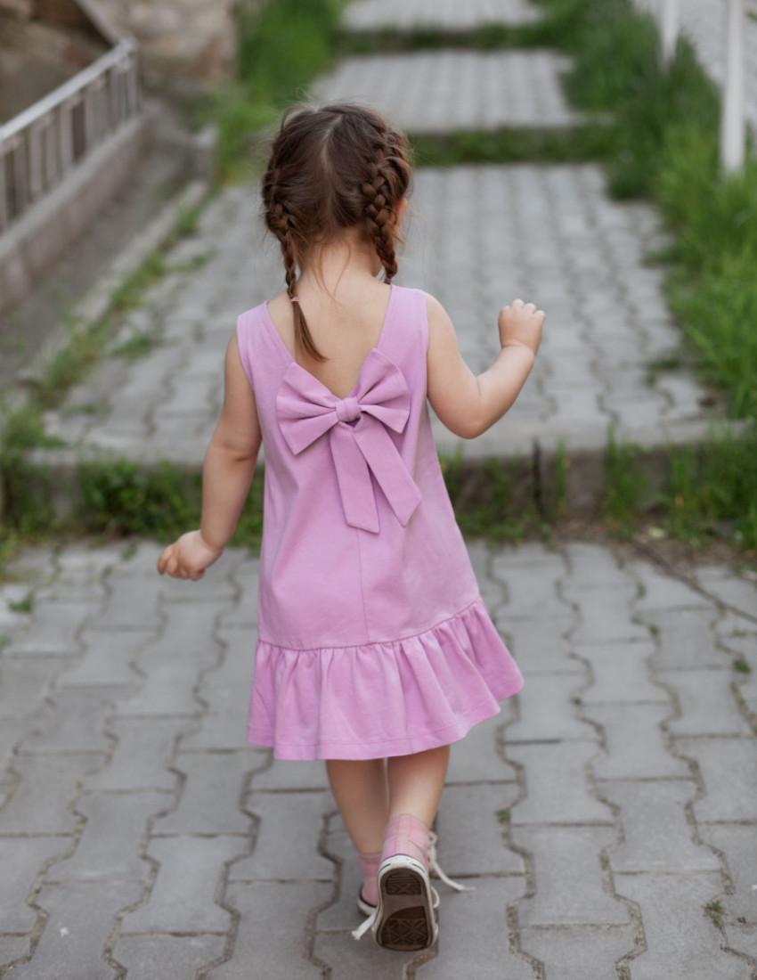 Платье Фиджи сиреневое