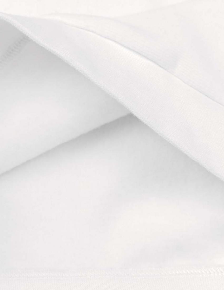 Свитшот Джойс с начесом белый Name in heart