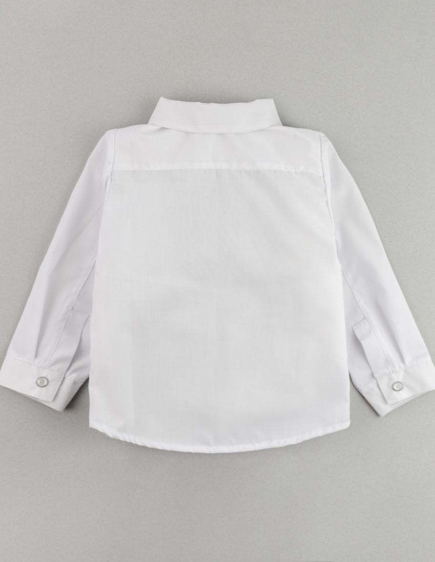 Рубашка с длинным рукавом белая