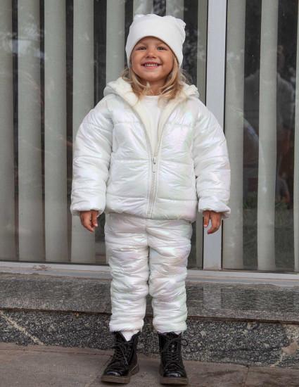 Куртка теплая Аляска радужная