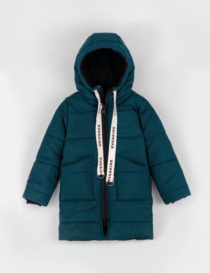 Куртка теплая Джакс тёмно-бирюзовая