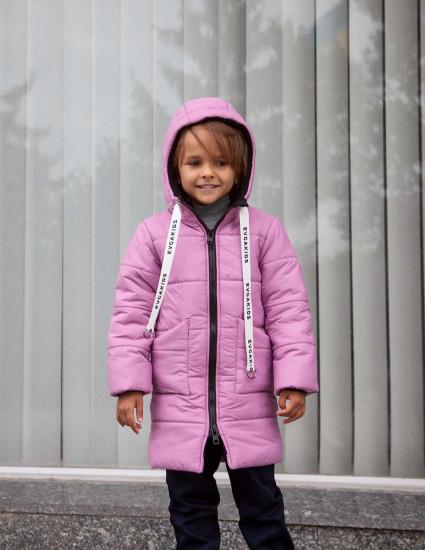 Куртка теплая Джакс сиреневая