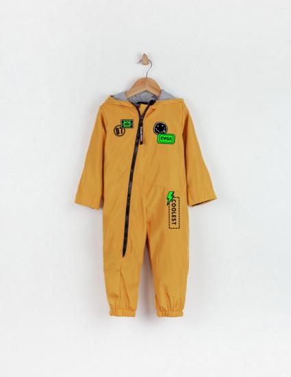 Комбинезон Форест из водоотталкивающей ткани желтый EVGA STIKERS