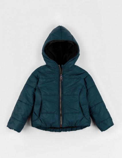 Куртка теплая Аляска тёмно-бирюзовая