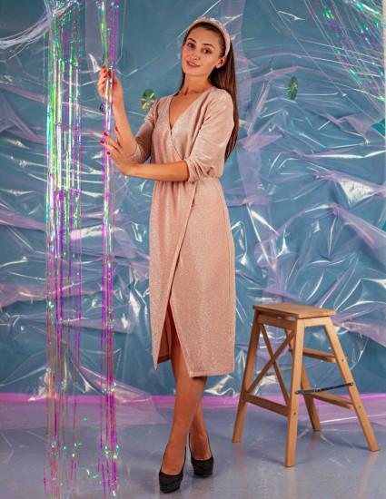 Платье Мирабель женское бежевое