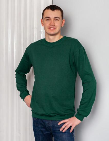 Джемпер Франт мужской тёмно-зелёный