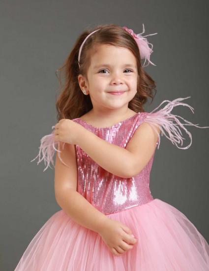 Платье Милава розовое