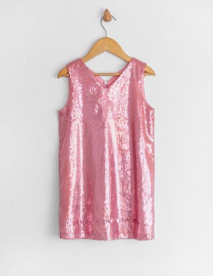 Платье Фиеста розовое