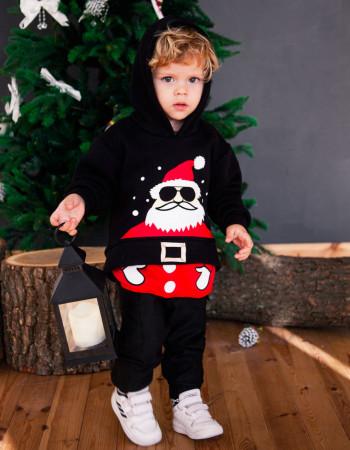 Толстовка Santa чёрная