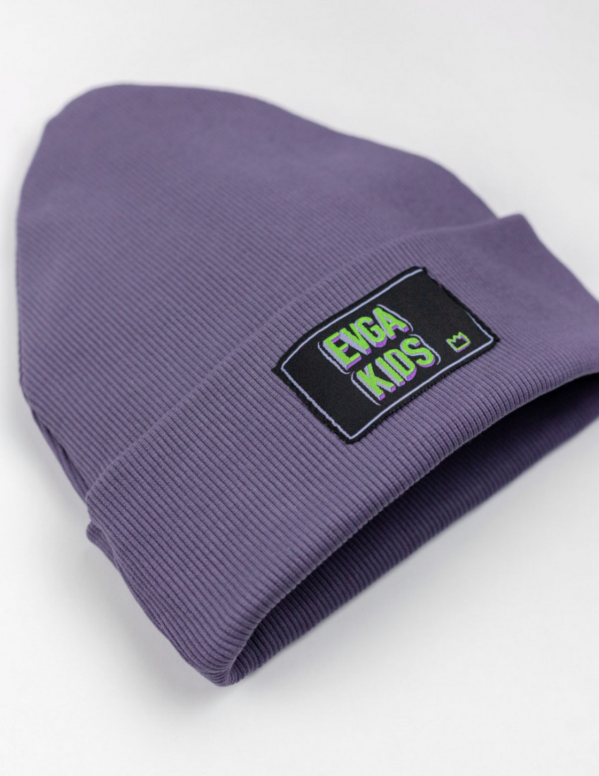 Шапка Шейд фиолетовая