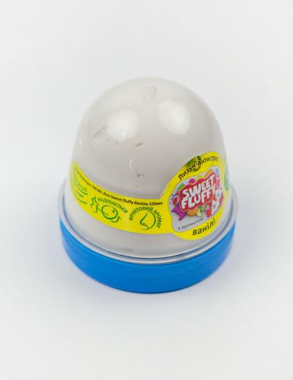 Лизун-антистрес Sweet Fluffy з ароматом ванілі, 120 грам, 1 шт