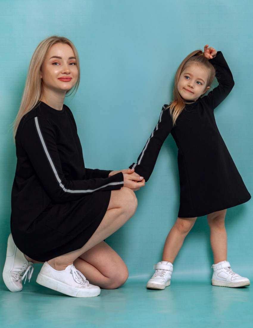 Платье Хэлли чёрное