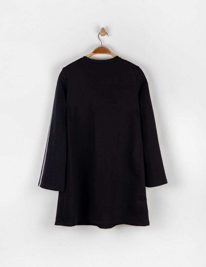 Платье Хэлли женское чёрное