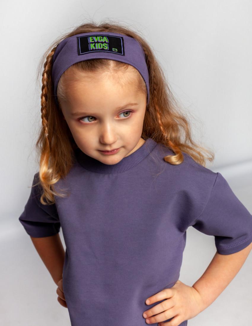 Повязка Аллен фиолетовая