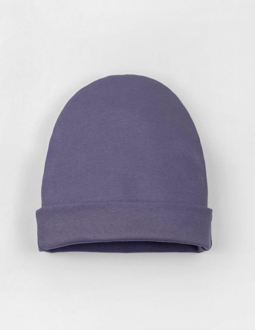 Шапка детская фиолетовая SUPERBOY