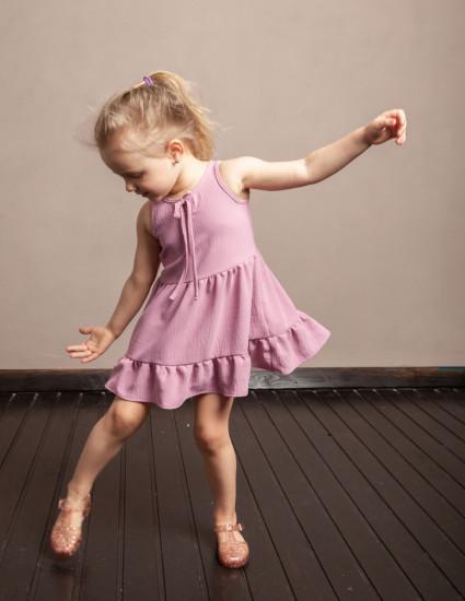 Платье Николь розовое