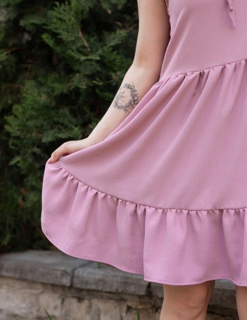 Платье Николь женское розовое