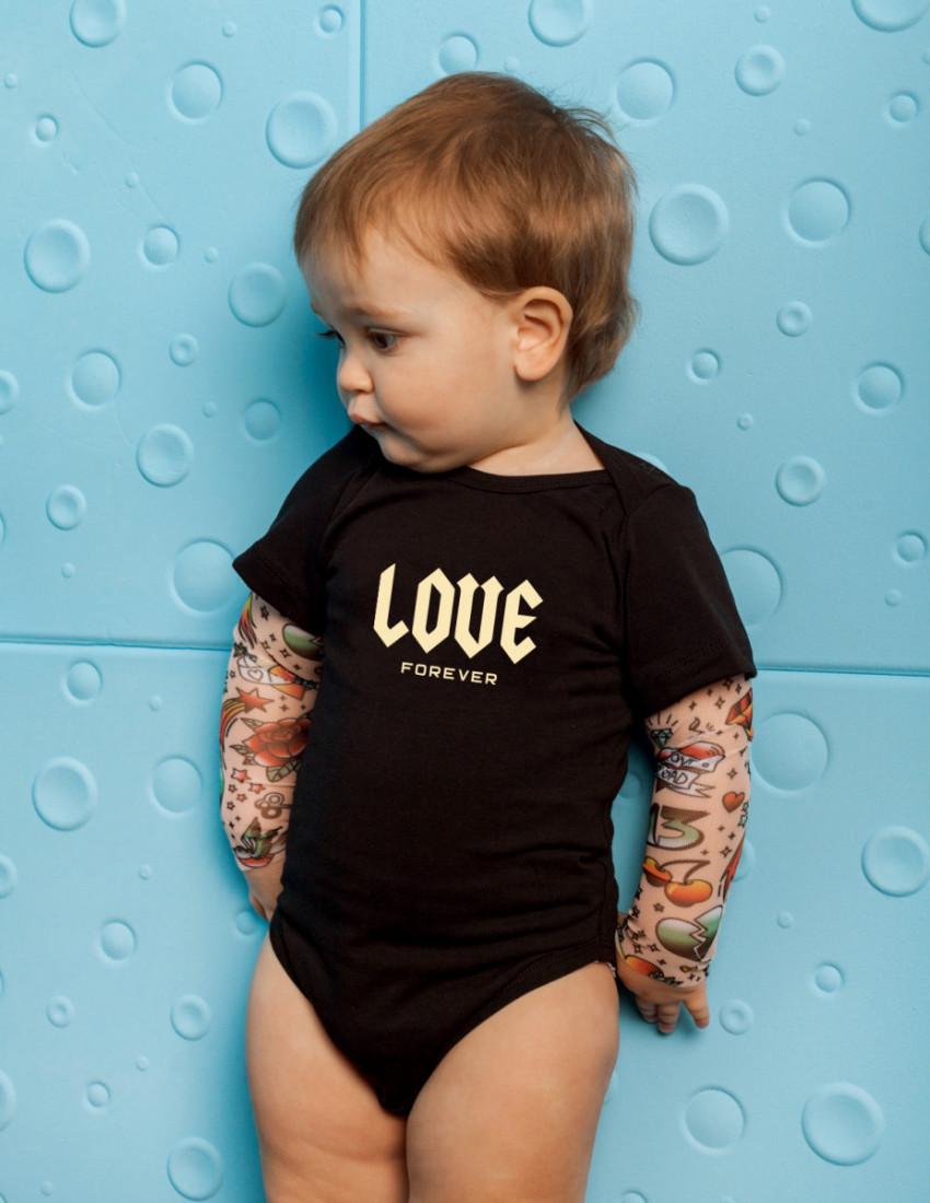 Боди Дрейк tattoo style LOVE FOREVER