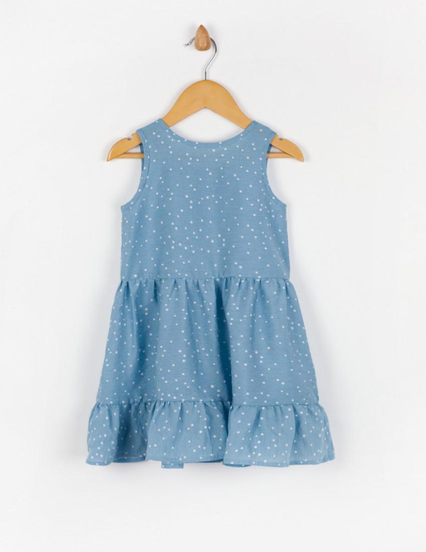 Платье Анабель голубое