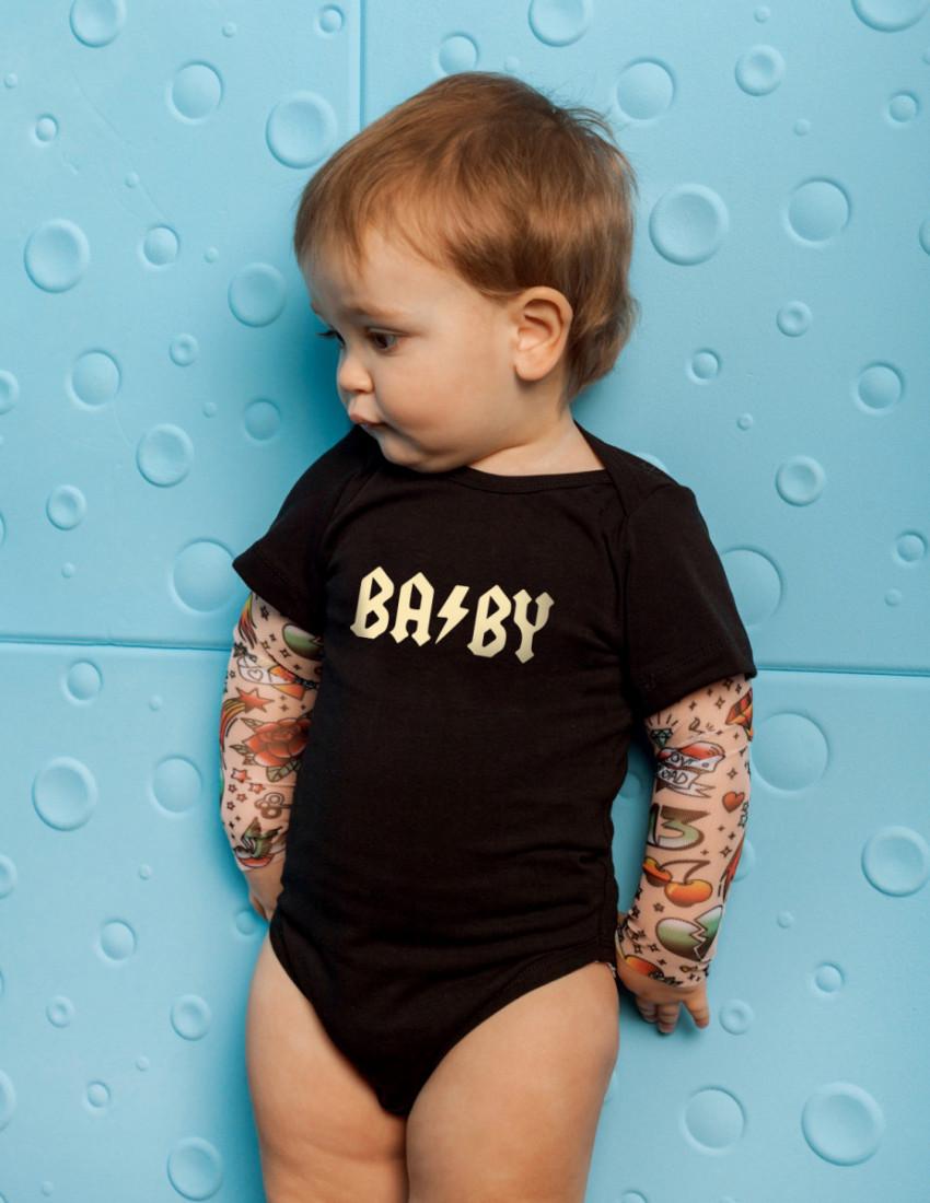 Боди Дрейк tattoo style BABE ROCK