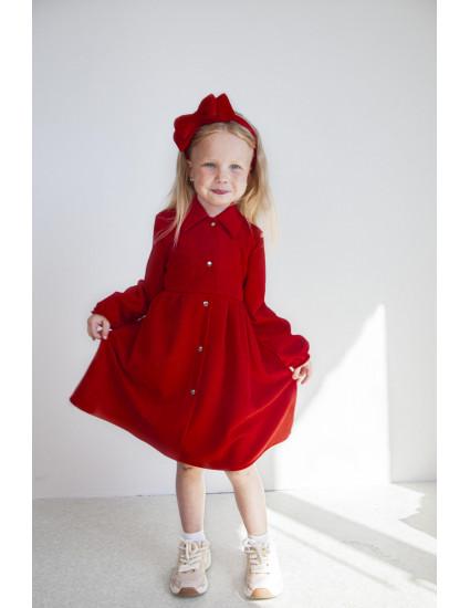 Платье Вейла красное