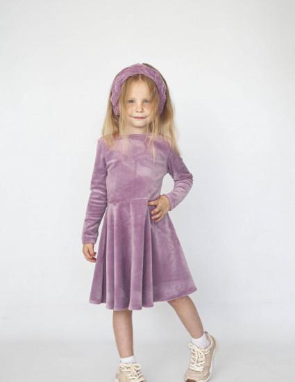 Платье Габриэль розово-лиловое