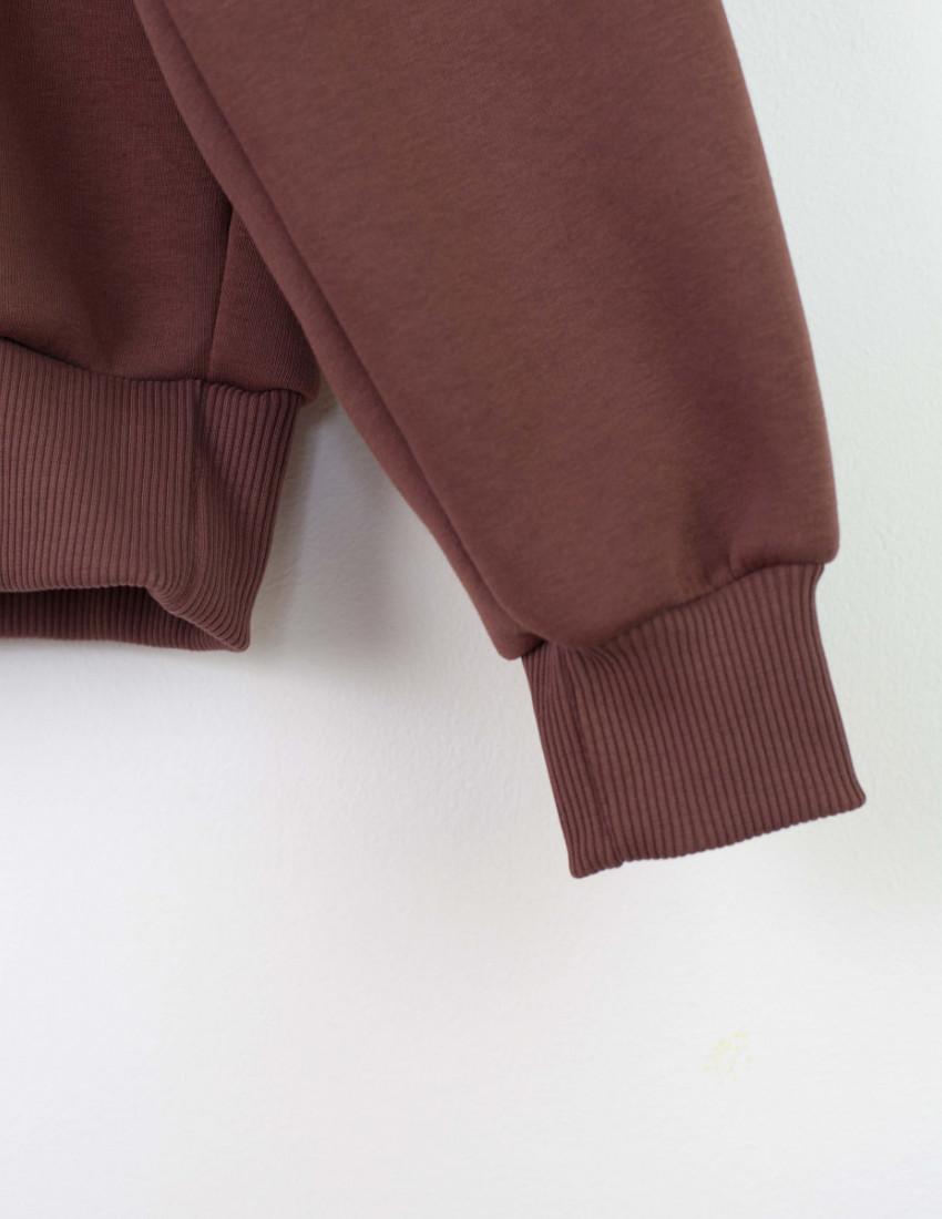 Толстовка Gloster женская коричневая