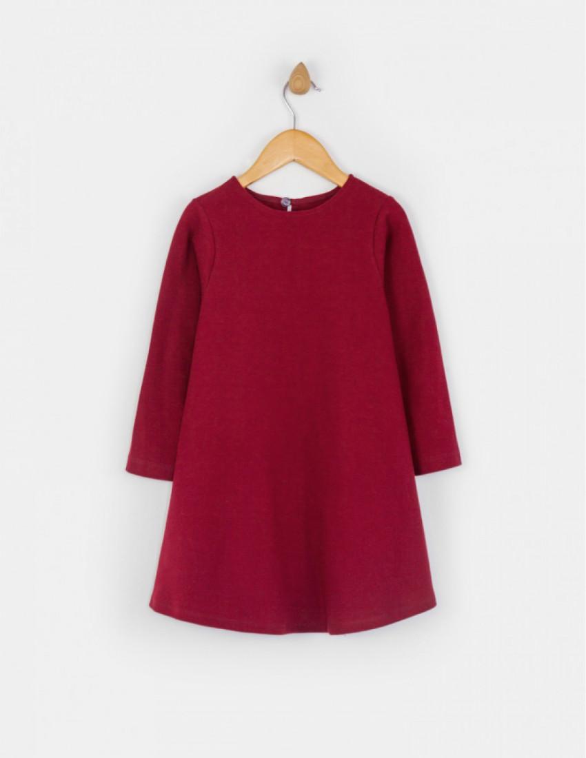 Платье Клеона бордовое