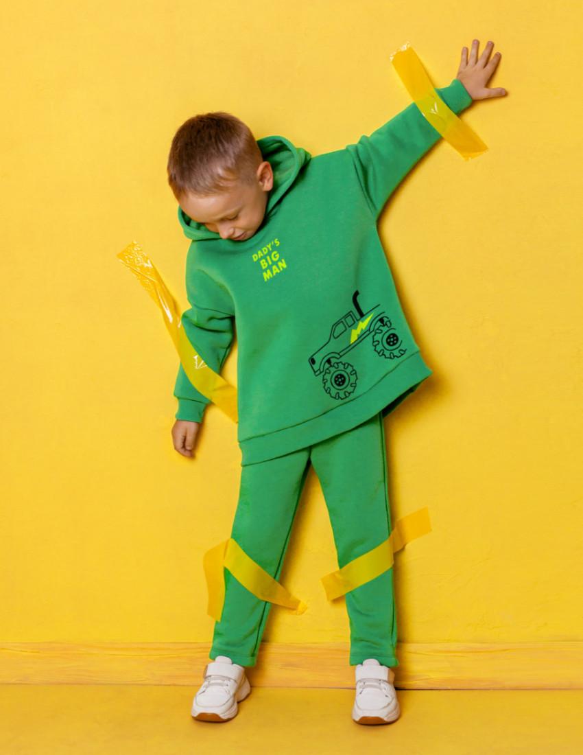 Костюм Белами зелёный Dady's big man