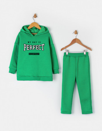 Костюм Белами зелёный MY DAY IS PERFECT