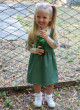 Сарафан Моникс оливковый