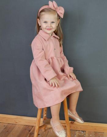 Платье Вейла пудра